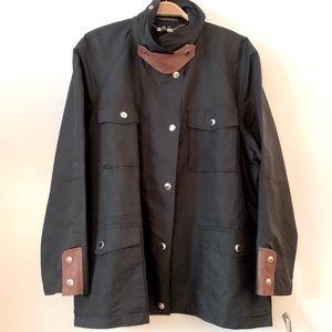 NWT LAUREN Ralph Lauren Voyage Black Jacket 3X